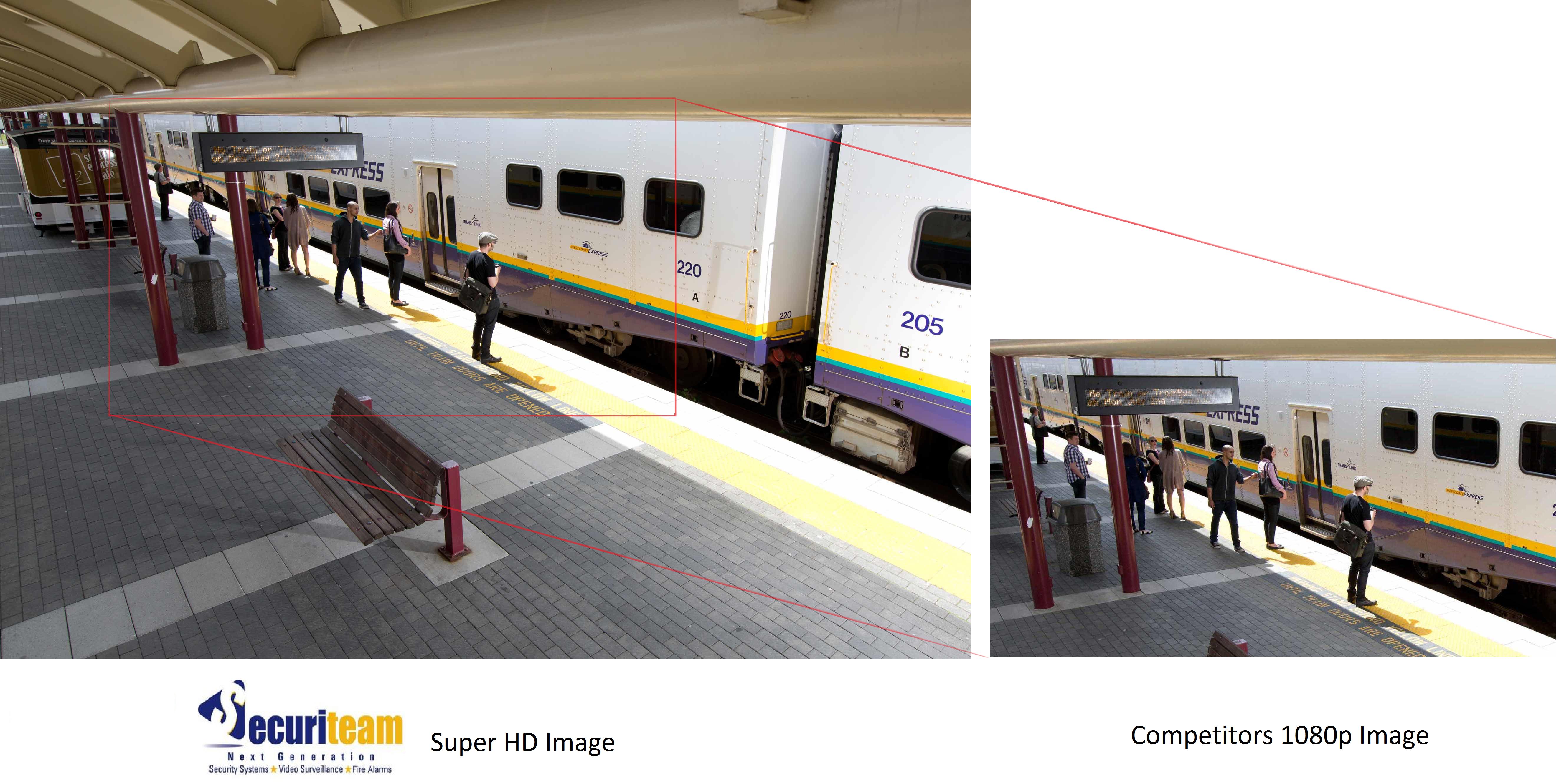 HD 1080p comparison with 4.1 megapixel
