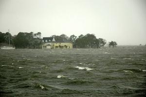 Hurricane Katrina landfall in Pensacola FL