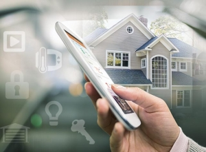 connected smart home security
