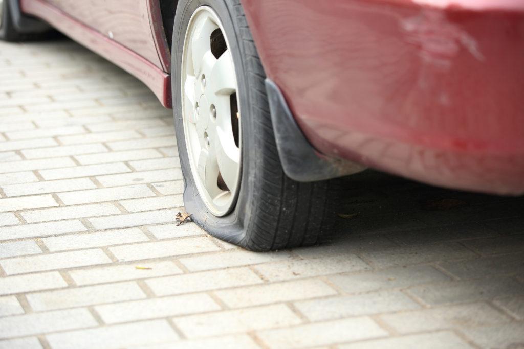 flat tire_vandals